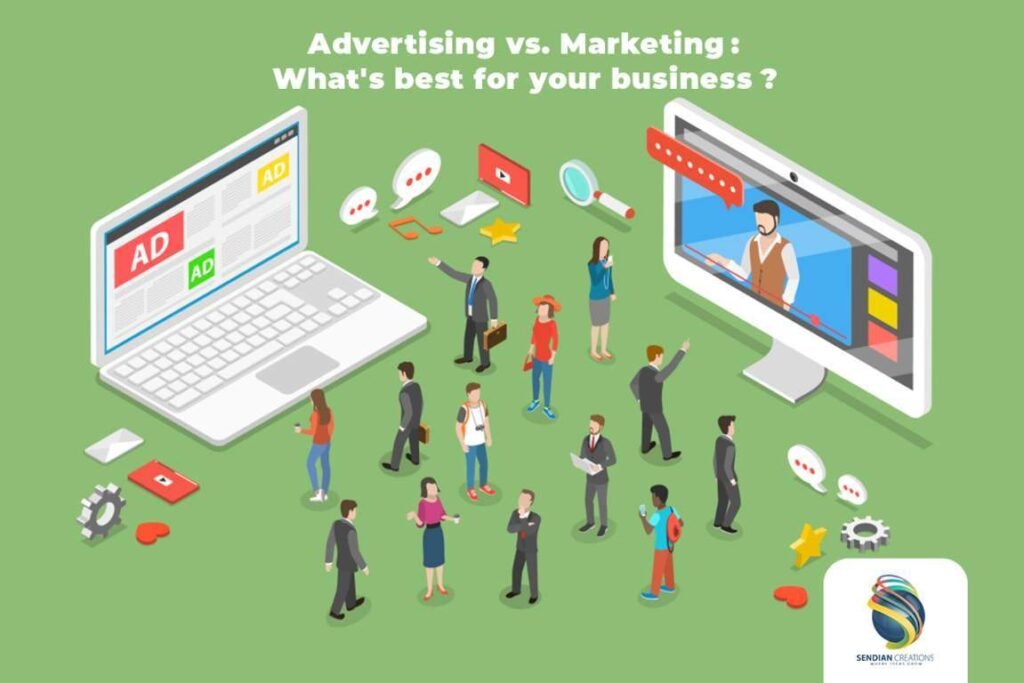 Advertising Vs. Marketing